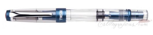 Estilográfica TWSBI Diamond 580 AL Prussian Blue