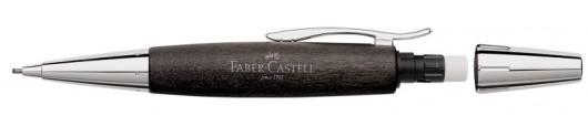 Portaminas Faber-Castell E-motion Madera de Peral Negro