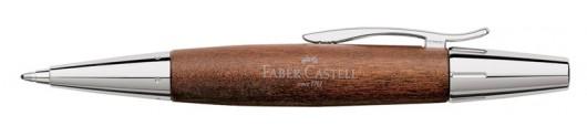 Bolígrafo Faber-Castell E-motion Madera de Peral Marrón