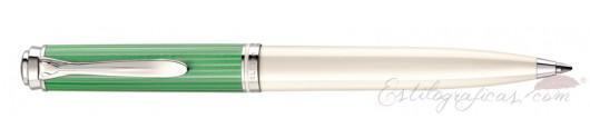 Bolígrafo Pelikan Souveraen K605 Green White