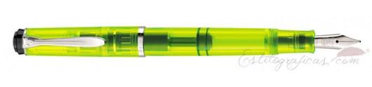 Estilográfica Pelikan Classic M 205 DUO Highlighter Neon Yellow