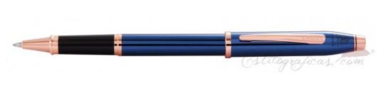 Roller Cross Century II Azul Cobalto y Oro Rosa