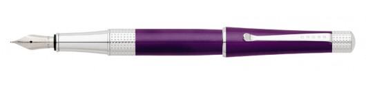 Estilográfica Cross Beverly Laca Púrpura