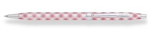 Bolígrafo Cross Century Colours Rosa a Cuadros