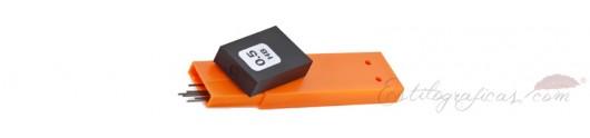Recambio 12 minas de grafito para portaminas Waldmann 0121 - 0122
