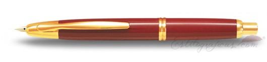 Estilográfica Pilot Capless Rojo / Oro