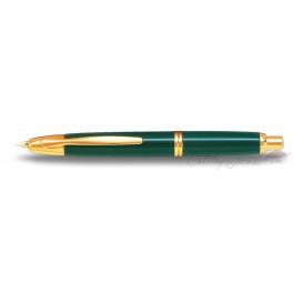 Estilográfica Pilot Capless Verde / Oro