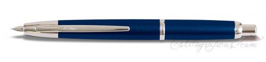 Estilográfica Pilot Capless Décimo Azul Oscuro