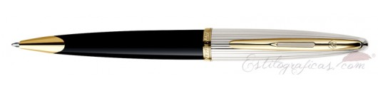 Bolígrafo Waterman Carene Deluxe Negro