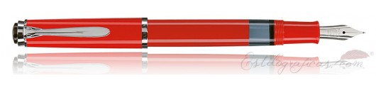 Estilográfica Pelikan Classic M 205 Rojo