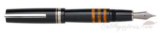 Estilográfica Delta Galassia Naranja