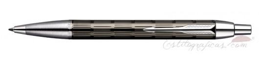 Bolígrafo Parker IM Premium Chiselled Bicolor