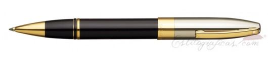 Rollerball Sheaffer Legacy Heritage Negro y Paladio