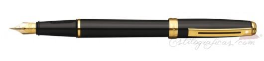 Pluma estilográfica Sheaffer Prelude Negra Brillante GT