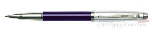 Rollerball Sheaffer Gift 100 Azul y Cromo