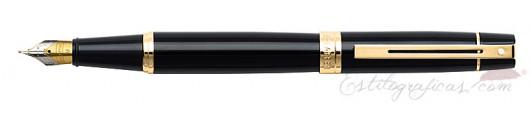 Pluma Estilográfica Sheaffer Gift 300 Negra GT