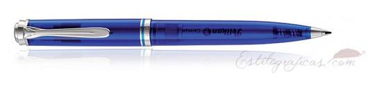 Bolígrafo Pelikan Souverän K605 Azul Marino Transparente