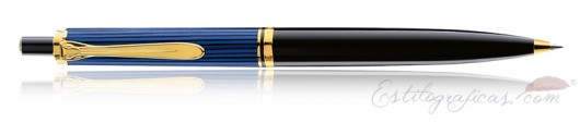 Bolígrafo Pelikan Souverän K 400 Negro y Azul