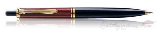 Bolígrafo Pelikan Souverän K 400 Negro y Rojo
