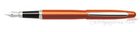 Pluma Sheaffer VFM naranja