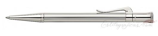 Bolígrafo Graf von Faber-Castell Clásica Plata