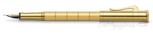 Estilográfica Graf von Faber-Castell Clásica Anello Oro