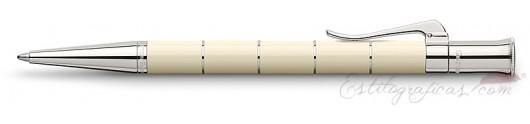 Bolígrafo Graf von Faber-Castell Clásica Anello Marfil