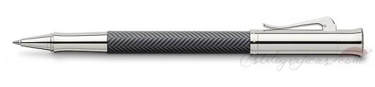 Roller Graf von Faber-Castell Guilloche Ciselé Gris
