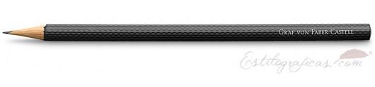 6 lápices Guilloche negros