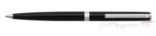 Bolígrafo Sheaffer Sagaris Negro CT