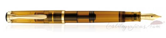 Estilográfica Pelikan Classic M 200 Cognac ed especial