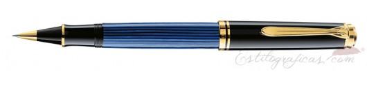 Roller Pelikan Souverän R 800 Azul y Negro