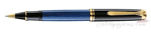 Roller Pelikan Souverän R 600 Azul y Negro