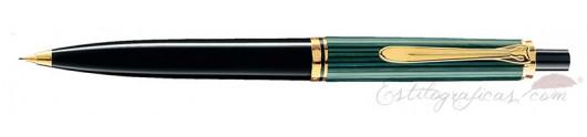 Portaminas Pelikan Souverän D 400 Verde y Negro
