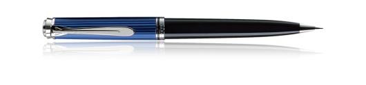 Portaminas Pelikan Souverän D 805 Negro, Azul y Plata - Mecanismo de giro