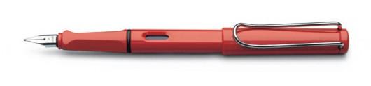 Estilográfica Lamy Safari 16 Rojo Brillante
