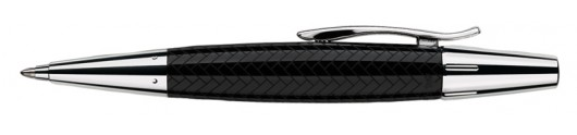 Bolígrafo Faber-Castell E-motion Trenzado Negro