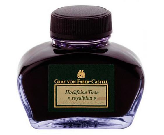 Tinteros Graf von Faber-Castell 62,5 ml Azul y Negro