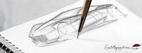 Ejemplo dibujo 4ever Pininfarina Negro
