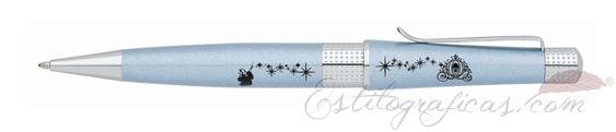 Bolígrafo Cross Beverly Cenicienta enlacado en azul lavanda edición especial