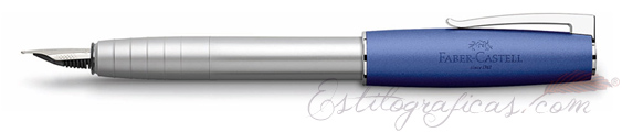 Pluma estilográfica Faber-Castell Loom Azul 149211