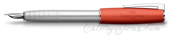 Pluma estilográfica Faber-Castell Loom Naranja 149221