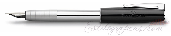 Pluma estilográfica Faber-Castell Loom Piano Negra 149251
