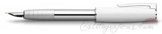 Pluma estilográfica Faber-Castell Loom Piano Blanca 149271