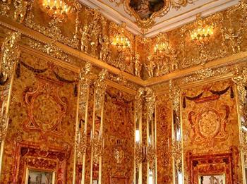 Salón del Ámbar del Palacio de Catalina