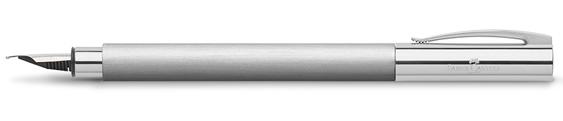 Estilográfica Faber-Castell Ambition Acero Inoxidable 148390