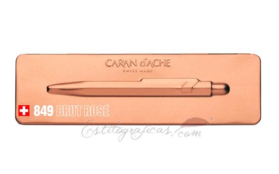 Bolígrafo Caran d'Ache 849 Brut Rosé Estuche