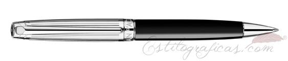 Bolígrafo Caran d'Ache Léman Bicolor Black 4789-289
