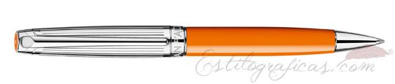 Bolígrafo Caran d'Ache Léman Bicolor Saffron 4789-530
