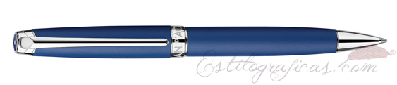 Bolígrafo Caran d'Ache Léman Blue Night Matt 4789-449